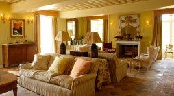 Chateau de LaLande - reception room